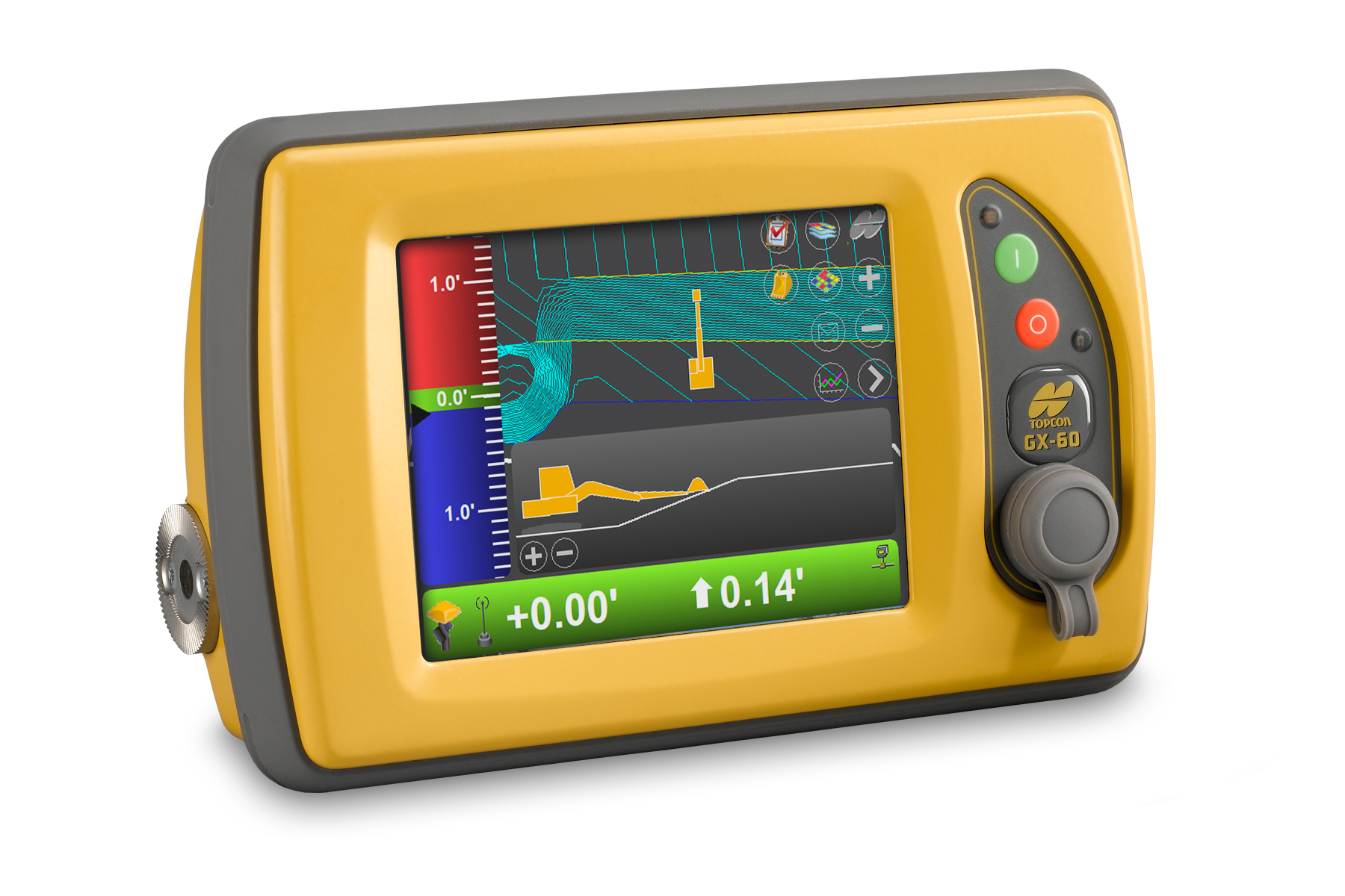 Topcon X 63i Excavator Indicate System Increases