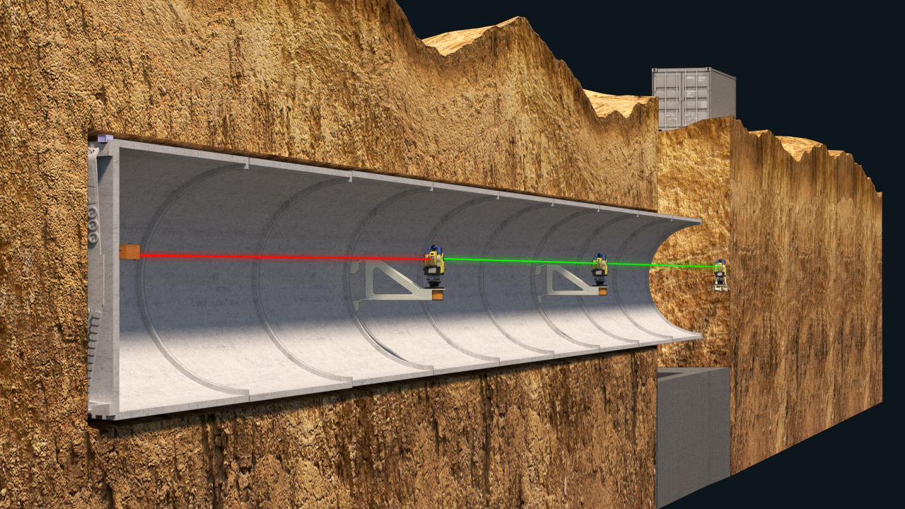 Zed Tunnel Guidance Solution Topcon Positioning Systems