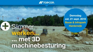 DEMOdag 3D machinebesturing