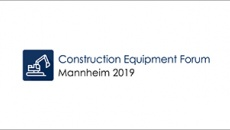 Construction Equipment Forum Mannheim 2019
