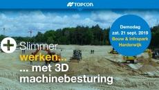 DEMOdag 3D machinebesturing