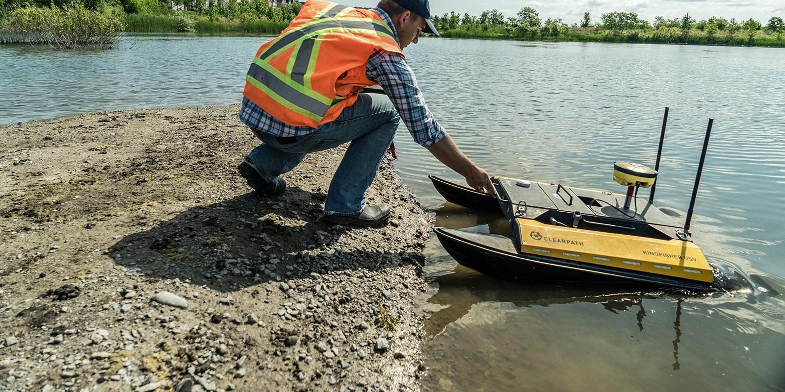 Network Brings Life To Bathymetric Survey Boat Topcon