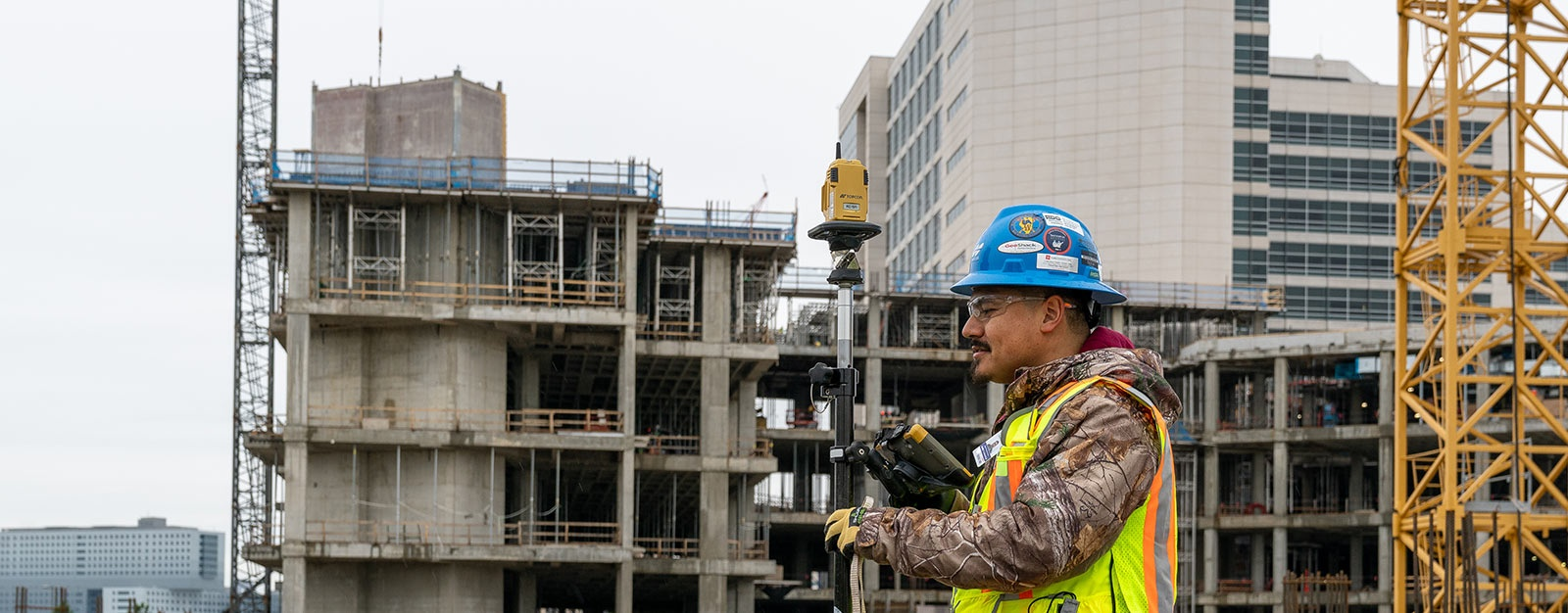 Vertical Construction Solutions | Topcon Positioning Systems