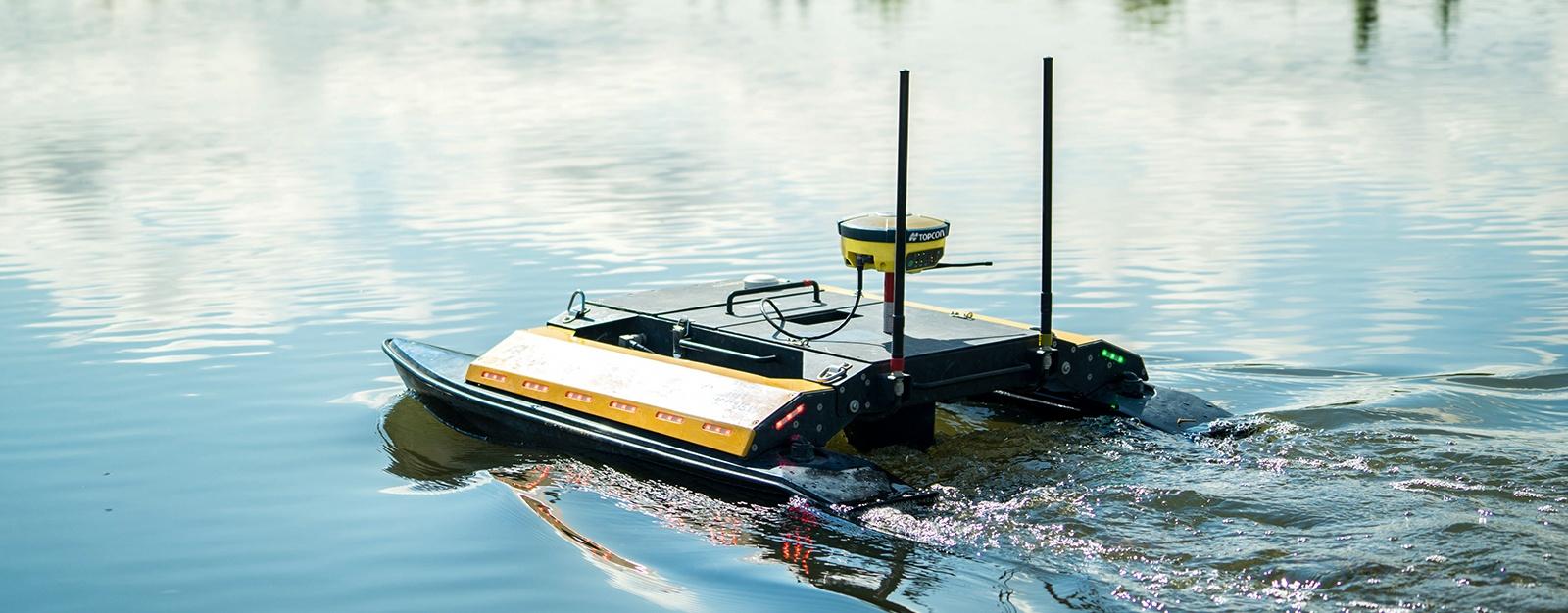 Network brings 'life' to bathymetric survey boat | Topcon