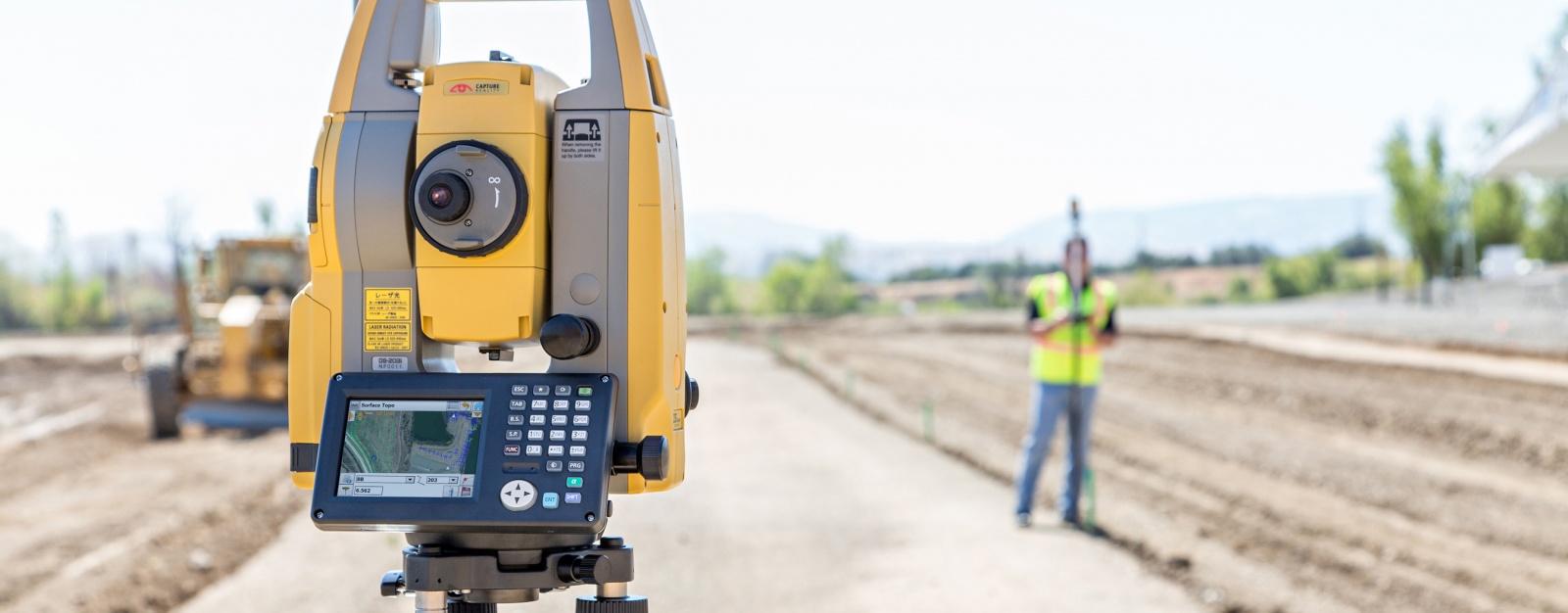 Validating a survey instrument total station