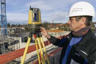 Hocheffizientes Bauvermessen mit dem LN-100 von Topcon