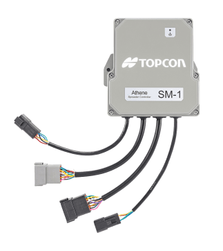 Topcon introduces Athene ECU for spreader applications
