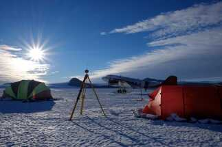 SURVEYING THE EARTH'S SOUTHERNMOST TERRAIN WITH TOPCON