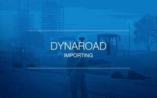 Simple data importing jumpstarts DynaRoad projects