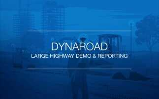DynaRoad Large Highway Demo & Reporting