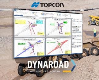 Topcon Positioning Group anuncia una importante actualización del software de gestión para planos de movimientos de tierras DynaRoad.