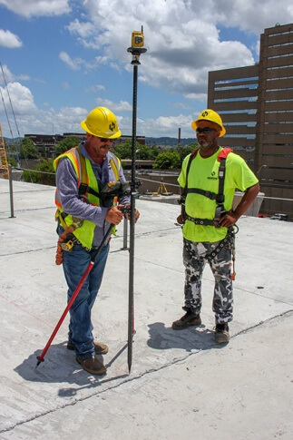Robotic total stations prove the right solution on downtown Birmingham bridge project.