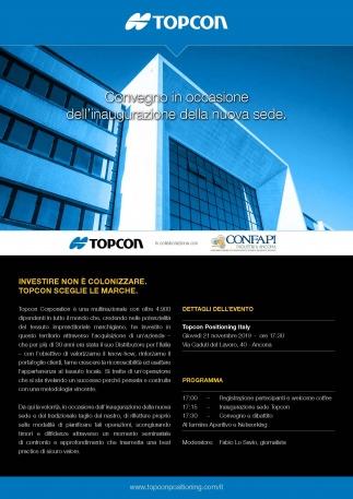Topcon inaugura la nuova sede ad Ancona