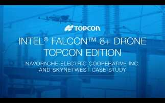 Intel® Falcon™ 8+ Drone – Topcon Edition | NEC and Skynetwest Case Study