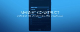 Download your files securely with MAGNET Construct