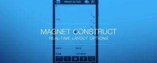 MAGNET Construct guides you through your layout, visually