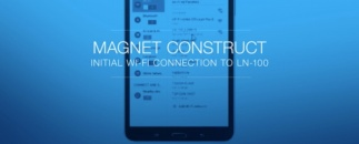 MAGNET Construct - Connect Wirelessly to the LN-100, Topcon's Radically Simple 3D Layout Tool