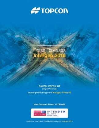 Topcon Digital Press Kit – Intergeo 2018
