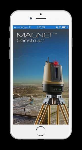 Topcon releases iOS version of MAGNET Construct app