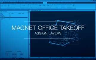 MAGNET Office Takeoff - Assign Layers