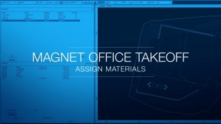 MAGNET Office Takeoff - Assign Materials