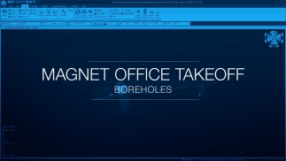 MAGNET Office Takeoff - Boreholes