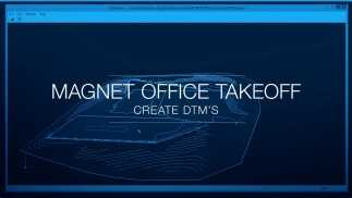 MAGNET Office Takeoff - Create 3D Surface