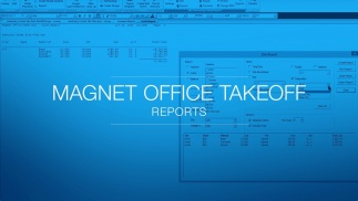 MAGNET Office Takeoff - Generate Reports