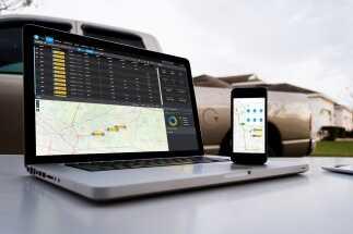 Topcon announces cloud-connected logistics  application for paving