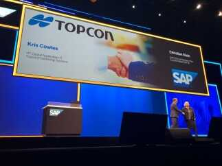 Topcon and SAP demonstrate infrastructure digitalization