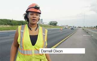 Intelligent Compaction is the order of the day on Minneapolis paving project.