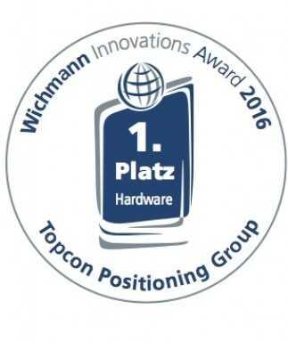 Topcon riceve il premio Wichmann Innovations per Falcon 8