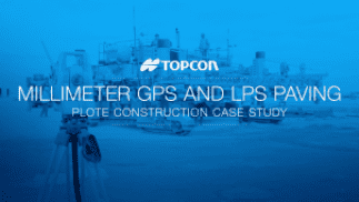 Plote Construction Millimeter GPS and LPS Paving Case Study