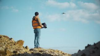 Dokumentation der wachsenden Sandgrube