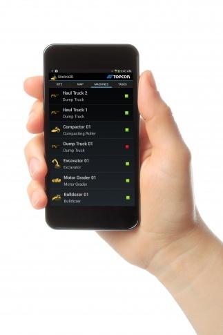 Topcon anuncia la app Sitelink3D para Android