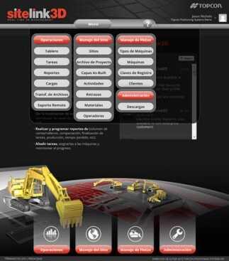 Topcon releases Spanish language option for Sitelink3D
