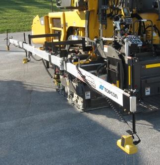 Topcon announces upgrade to SAS system for asphalt paving