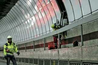 Monitoring the Tyne Tunnel, 24/7