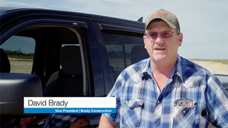 Brady Construction grades effortlessly with 3D-MC MAX