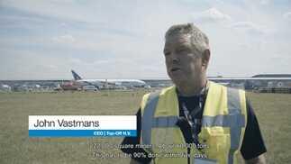 10.000 tonnellate al giorno: il risanamento di un'importante pista dell'aeroporto di Bruxelles