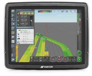 Topcon Agriculture presents the new X35 premium-featured console