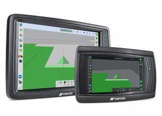 Topcon Agriculture presenta una interfaz de usuario mejorada con nuevas pantallas en cabina