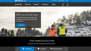 Topcon announces new website launch for positioning professionals
