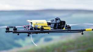 Topcon announces rotary-wing UAS