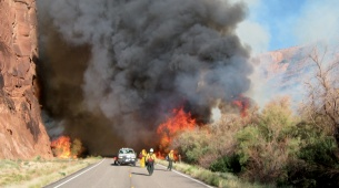 Incendie sous contrôle