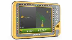 Topcon announces new control box for excavator systems for the Americas