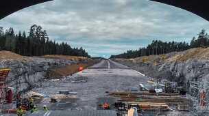 MAGNET - Une précieuse aide à l'amélioration du « Raccourci Vert » : le plus grand projet routier de Norvège à ce jour