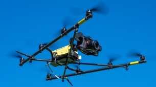 Topcon introduceert octocopter voor Europa