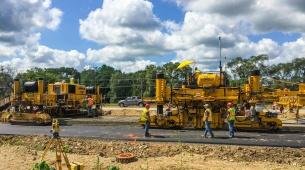 Topcon announces robotic-based system for concrete paving