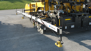 Topcon announces upgrade to SAS system for asphalt paving